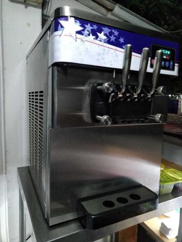 máquina de helado suave, marca fivesteel modelo tsla51