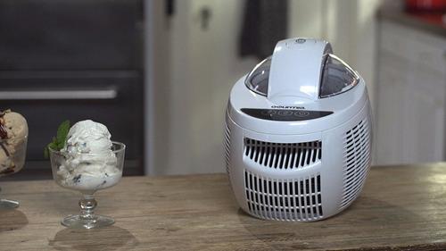 maquina de helado yogurt sorbete compresor integrado digital