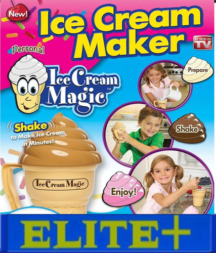 maquina de helados de crema ice cream magic