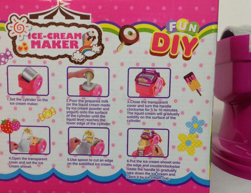 maquina de helados divertido y educativo juego para niñas