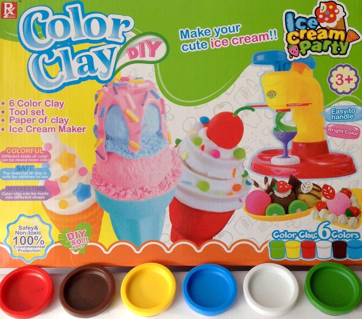 maquina de helados en plastilina juego para nios diversion