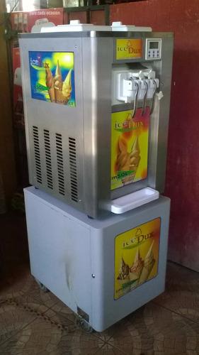 maquina de helados ice dux-ss628t $860.000 muy poco uso