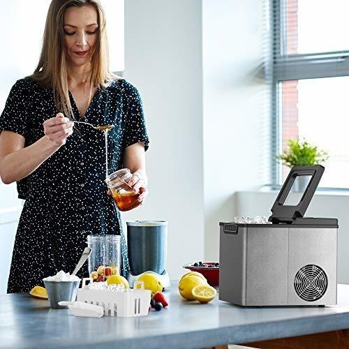 maquina de hielo  26 libras en 24 horas  vremi
