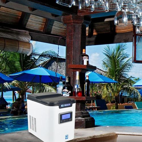 maquina de hielo 27 libras de hielo cada 24 horas