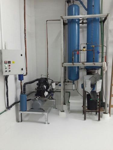 maquina de hielo en cilindros (tipo rolito)