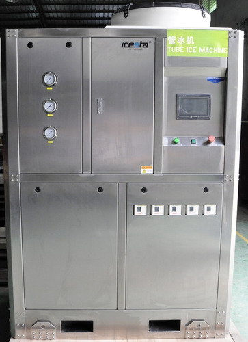 maquina de hielo. fabricadora de hielo cilindrico 1 ton/24hs