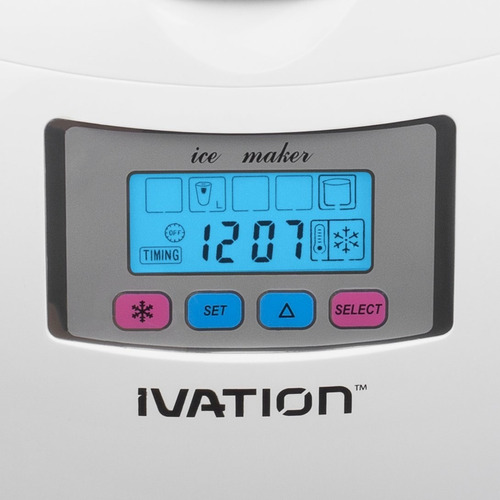maquina de hielo portatil ivation iva-icem25wh