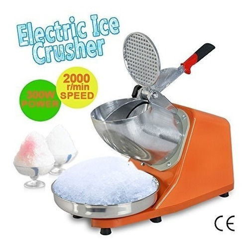 máquina de hielo raspado zeny eléctrico de 300w 1400r/min