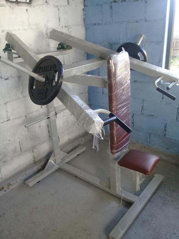 Máquina De Hombros Gym Deltoides, 2 Discos De 10kg - U$S 320,00 en ...