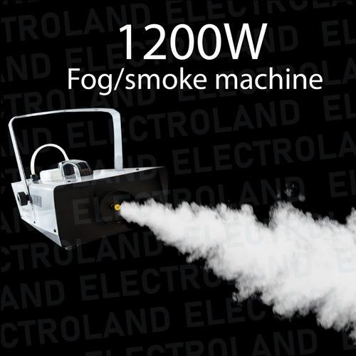 maquina de humo 1200w control remoto inalambrico fiestas dj