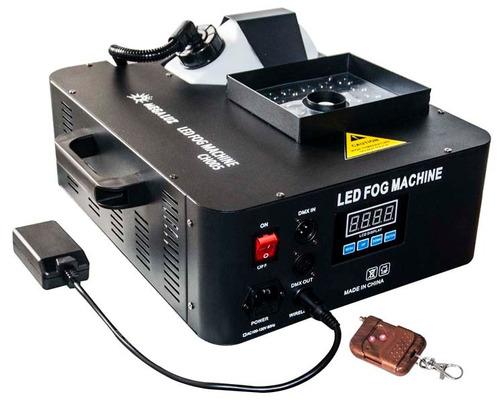 maquina de humo camara cirrus 1500w dmx+led marca:mega luz
