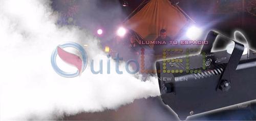 maquina de humo, camara  de humo 400w control remoto