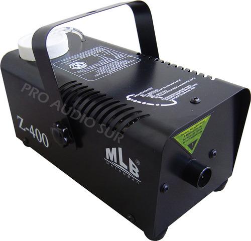 maquina de humo mlb z400 watts control remoto efecto video