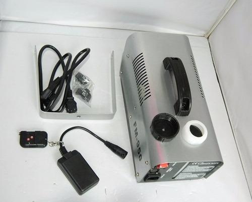 maquina de humo potente discoteca de 900w a control remoto