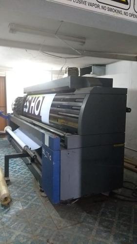 maquina de impresion a gran formato hp scitex