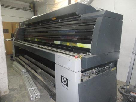 maquina de impresion gran formato hp scitex xl1500
