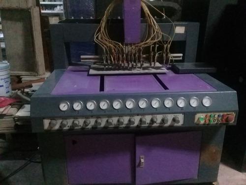 maquina de inyección de plastisol