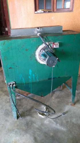 máquina de jateamento