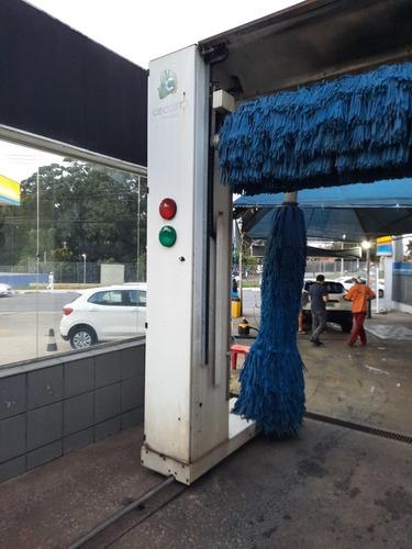 máquina de lavar carros automática