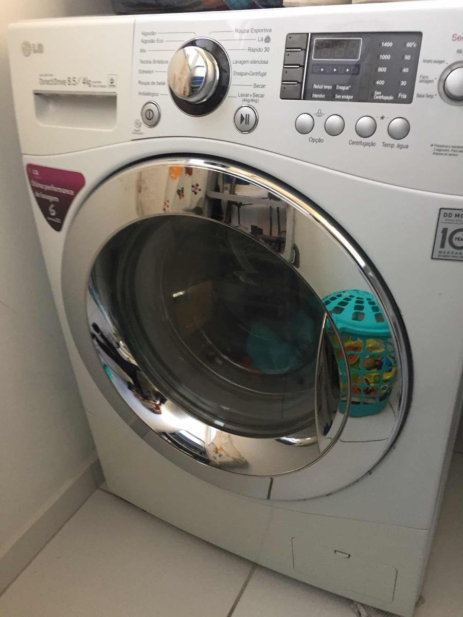 fc11175e0 Máquina De Lavar E Secar Roupas Lg 8
