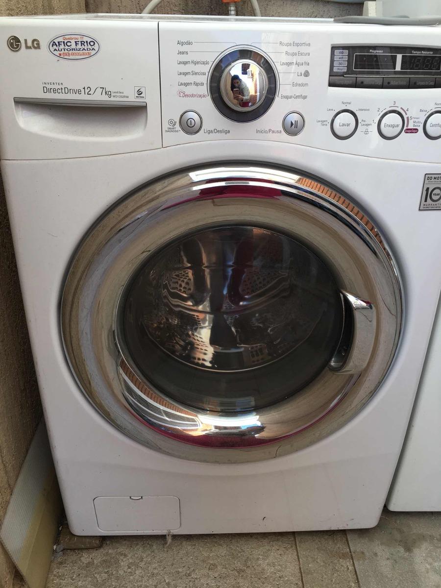 9111fd0df2 máquina de lavar lg lava e seca 12kg. Carregando zoom.