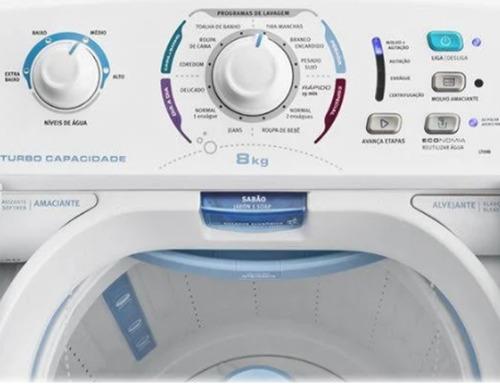 máquina de lavar - tubo economia lt09b 8 kg electrolux