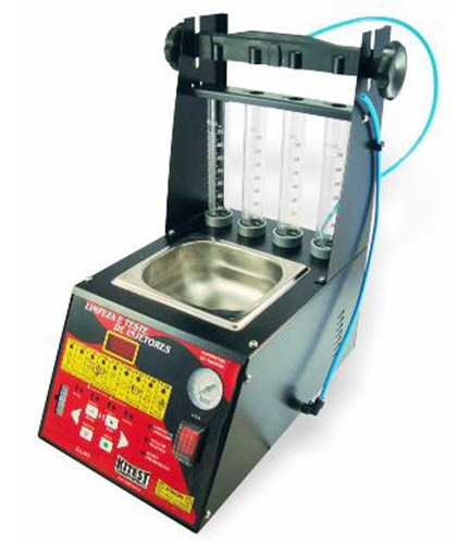 máquina de limpeza bicos injetores dig completa kitest-ka085