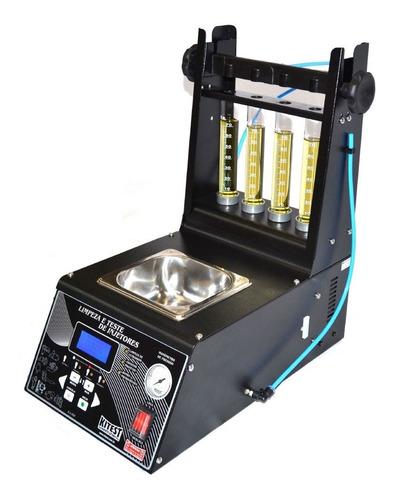 máquina de limpeza de bicos completa cuba 1l ka-080 kitest