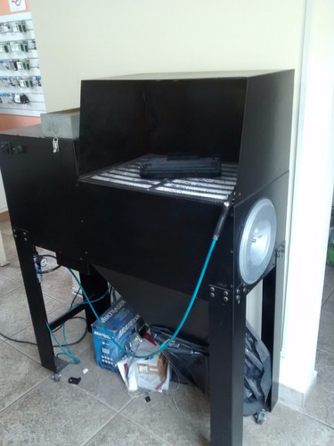 máquina de limpeza de toner