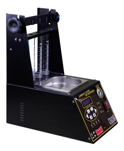 máquina de limpeza e teste de bicos injetores kitest-ka039