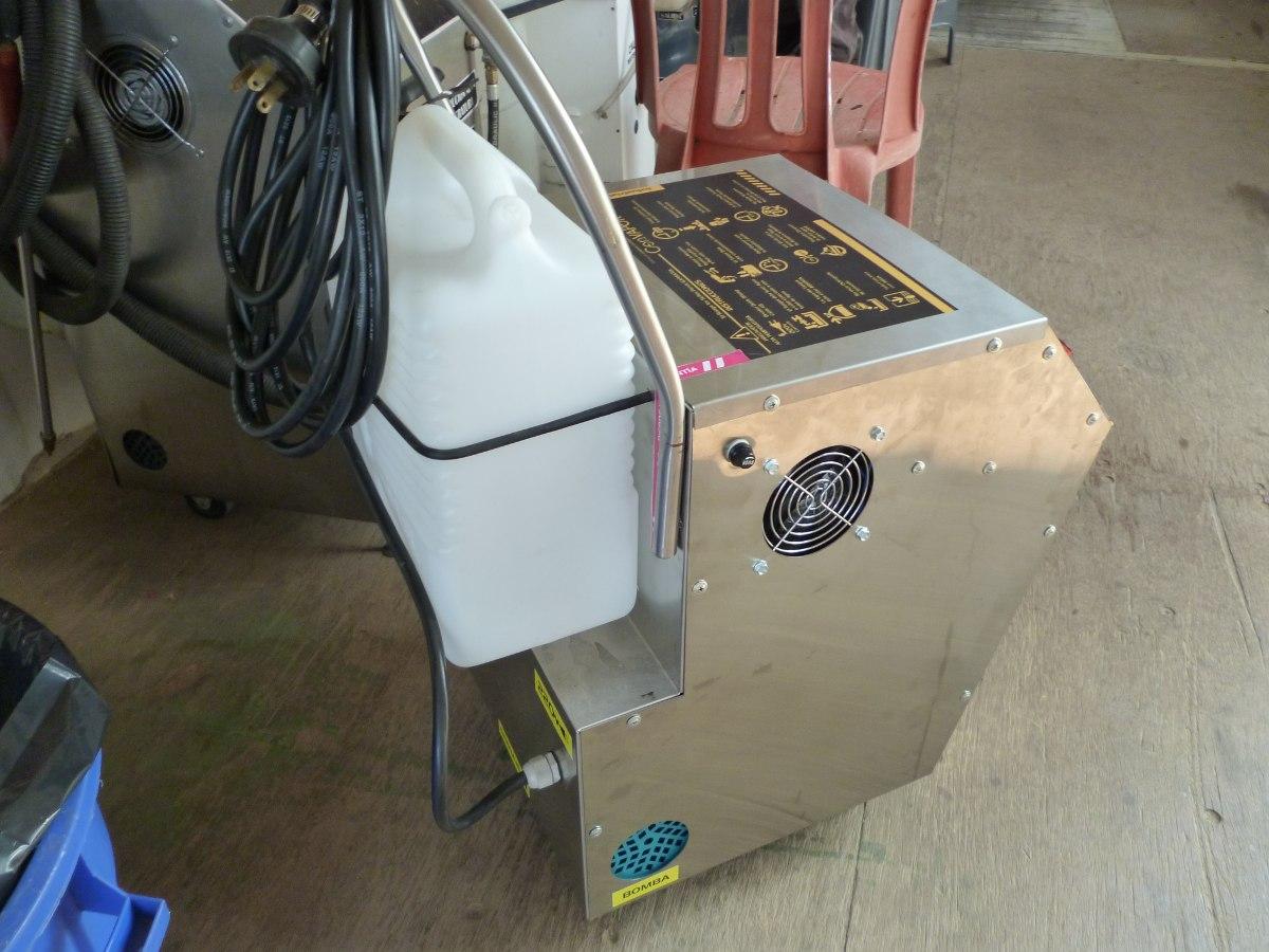 Maquina de limpieza a vap r carros tapiceria etc bs en mercado libre - Maquina de limpieza a vapor ...