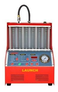 maquina de limpieza y prueba 6 inyectores launch en tienda