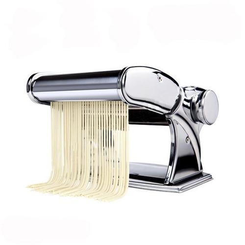 maquina de macarrão caseira inox 3 tipos de massa c/ nf