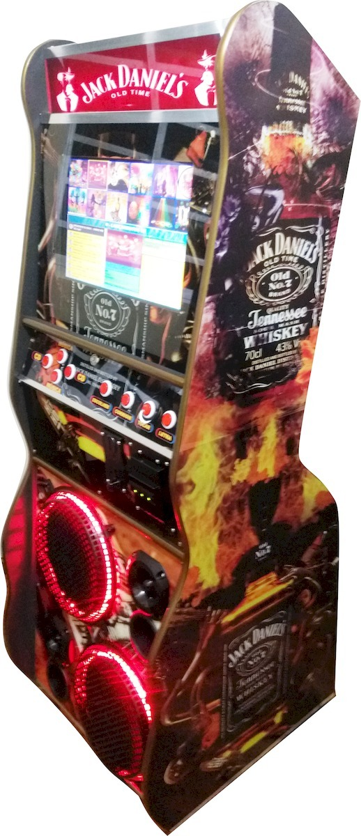 Maquina De Musica Jukebox 19 Polegadas Em Led Da Infozé
