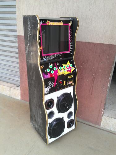 maquina de musica jukebox slim 17 polegadas sistema linux wa