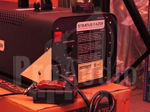 máquina de niebla ampro stratus fazer (6 cuotas sin interés)