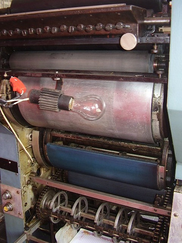 maquina de offset davidson  701 com  reverçao