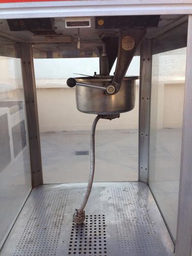 maquina de palomitas palomera 16 oz. gold medal automática