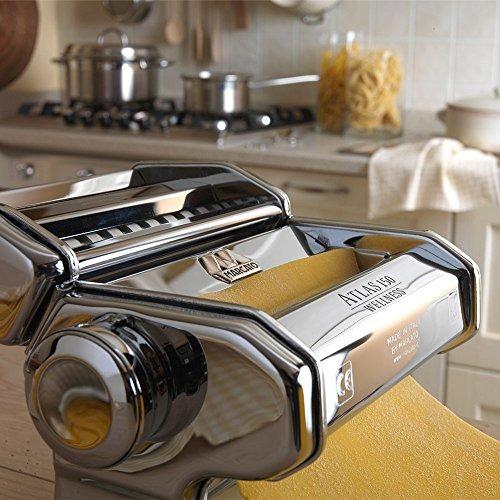 máquina de pasta marcato atlas made in italy cromo incluye