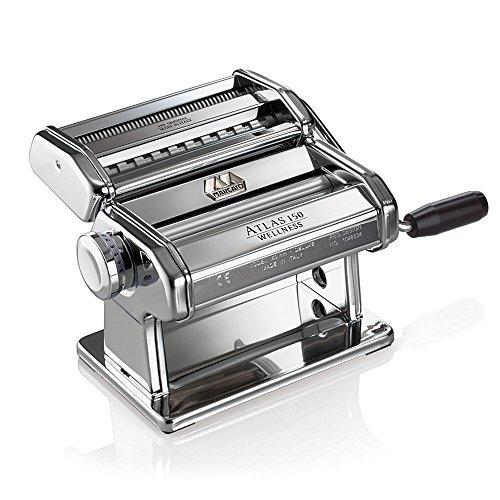 máquina de pasta marcato atlas made in italy cromo incluye m