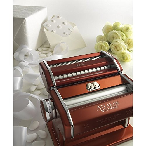 maquina de pasta marcato atlas made in italy red incluye ma