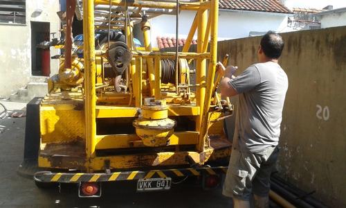 maquina de perforación de pozos para agua