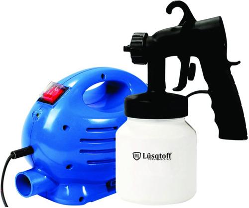 máquina de pintar compresor pistola equipo lusqtoff 1004