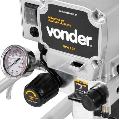 máquina de pintura airless 1,2hp 220v - vonder - mpa 120