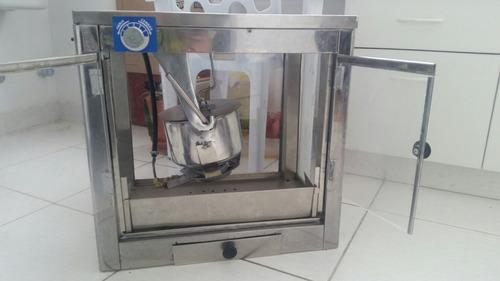 maquina de pop corn (canchita) a gas