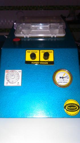 máquina de pré e pós vácuo para cartucho de impressora
