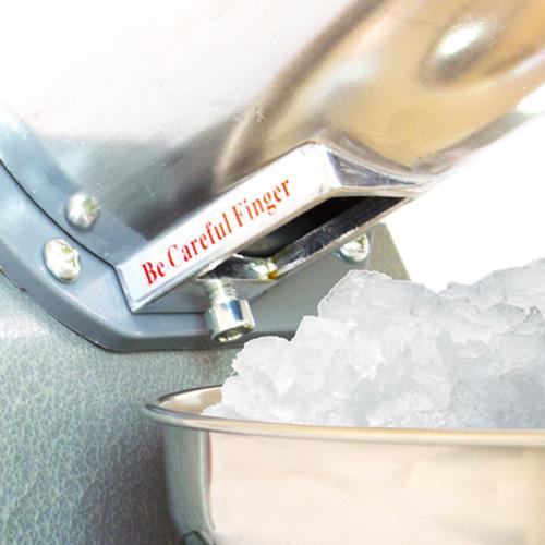 maquina de raspados industrial rasuradora de hielo compacto