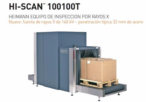 Maquina De Rayos X Modelo Hi-scan 100100t - Bs. 175.000,00 en ...