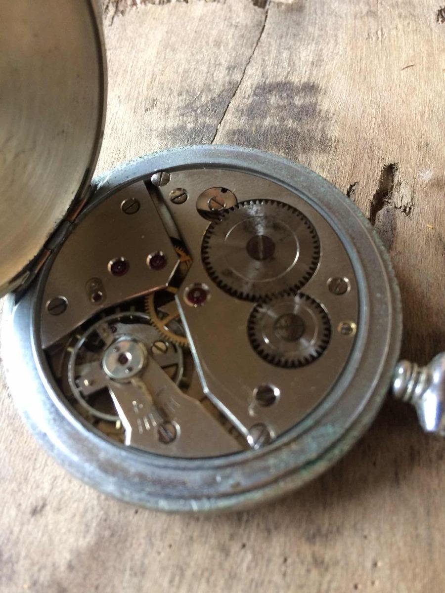 7814ea8a370 Máquina De Relógio De Bolso ( Funciona E Para) Restauro 244 - R  165 ...