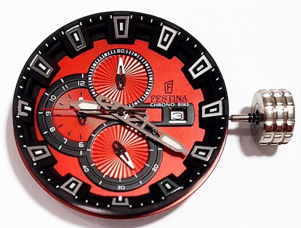 e9d461f3883 máquina de relógio festina miyota 0s10 chrono preto vermelho. Carregando  zoom.